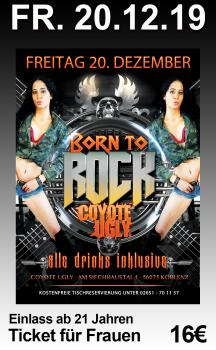 Born To Rock Vol.11 - Frauen-Ticket